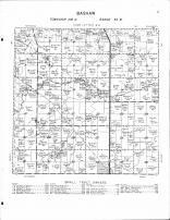Bashaw Township, Comfrey, Little Cottonwood River, Brown County 1964 Published by Thomas O. Nelson Co